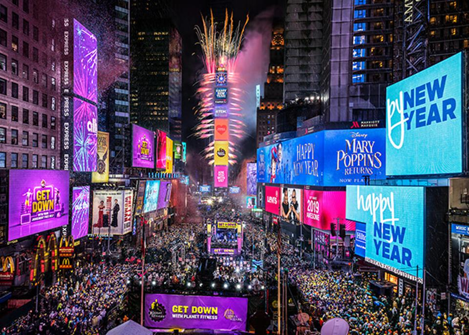 New Year's Eve 2020-2021 In Times Square - Virtually Enhanced, Visually Compelling and Very ...