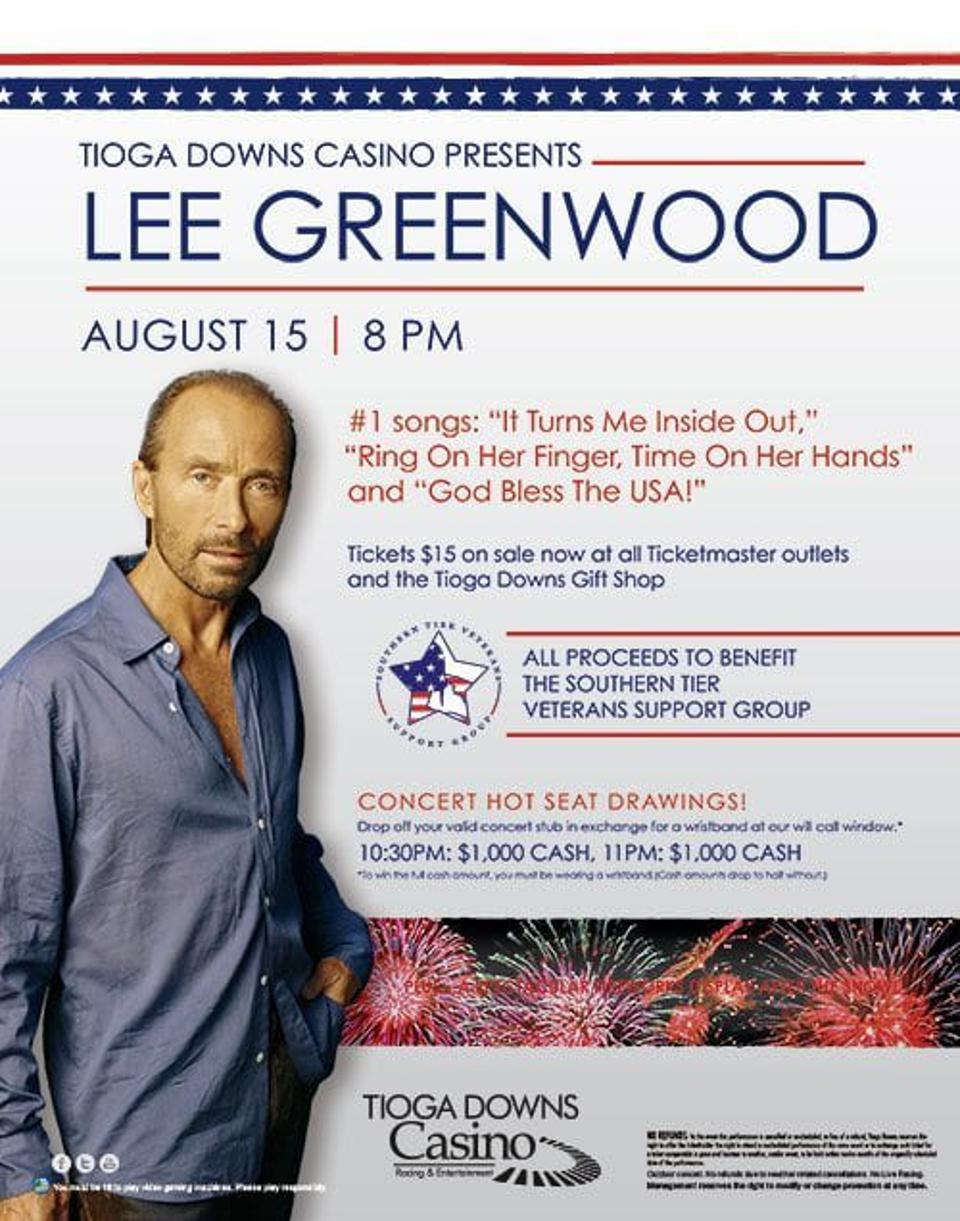 Lee Greenwood Destinations Of New York State